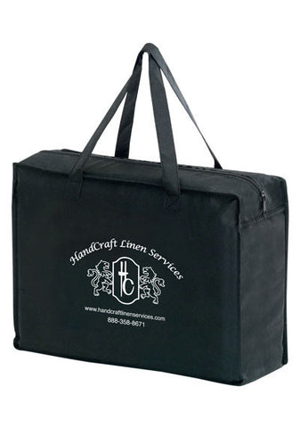 Non Woven Essential Briefcase Tote with Zipper Closure in Bulk Wholesale - Y2KZ20616