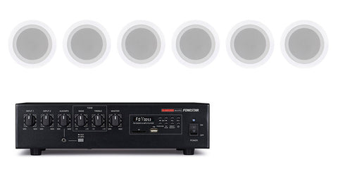 Audio Kit - 60W USB/SD/MP3 + In-ceiling speakers