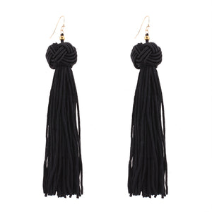 Kate Long Tassel Earrings