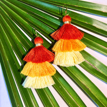 Load image into Gallery viewer, Coco Tassel Earrings