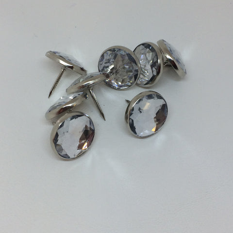 Diamonte Upholstery Pins