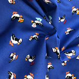 Puffin Blue  - Cotton