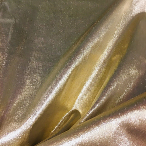 Plain Metallic Tissue Lamé
