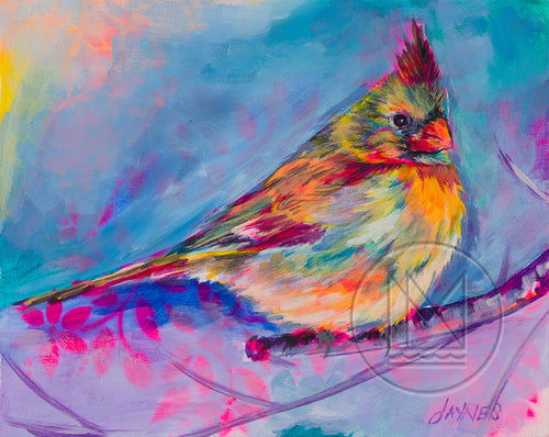 Cardinal For Erin Painting