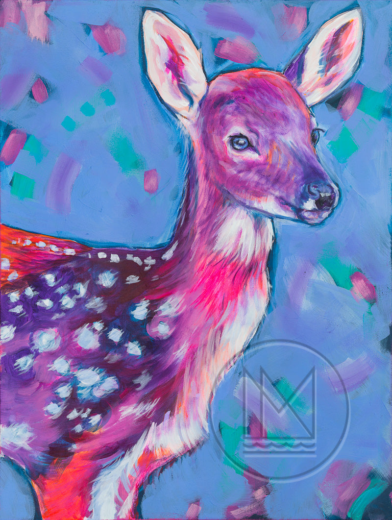 Fawn Standing Painting