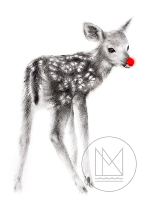 Fawn - Red Nose