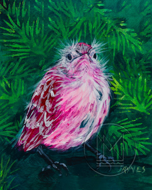 Fledgling For Grumpy Painting