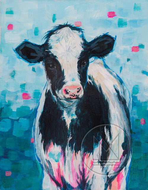 Holstein Cow Painting - Now On Sale