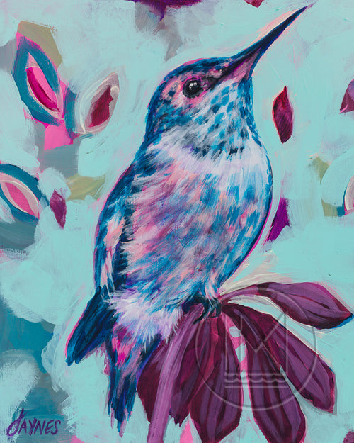 Hummingbird for Jo-Ann Painting