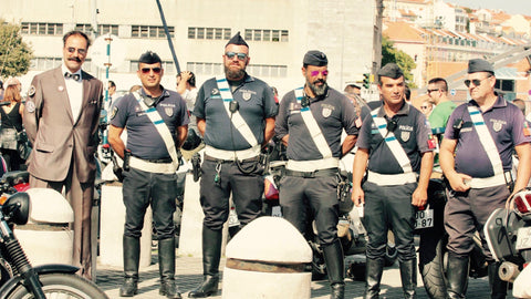 The distinguished gentleman's ride 2017 à Lisbonne I Police