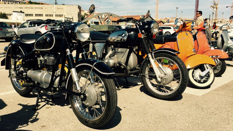BMW R60/6 I The distinguished gentleman's ride 2017 à Lisbonne