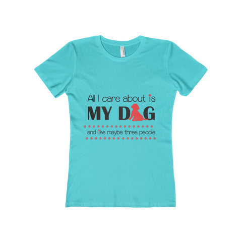 Definition of a Bark woman's t-shirt is a perfect gift for dog lovers