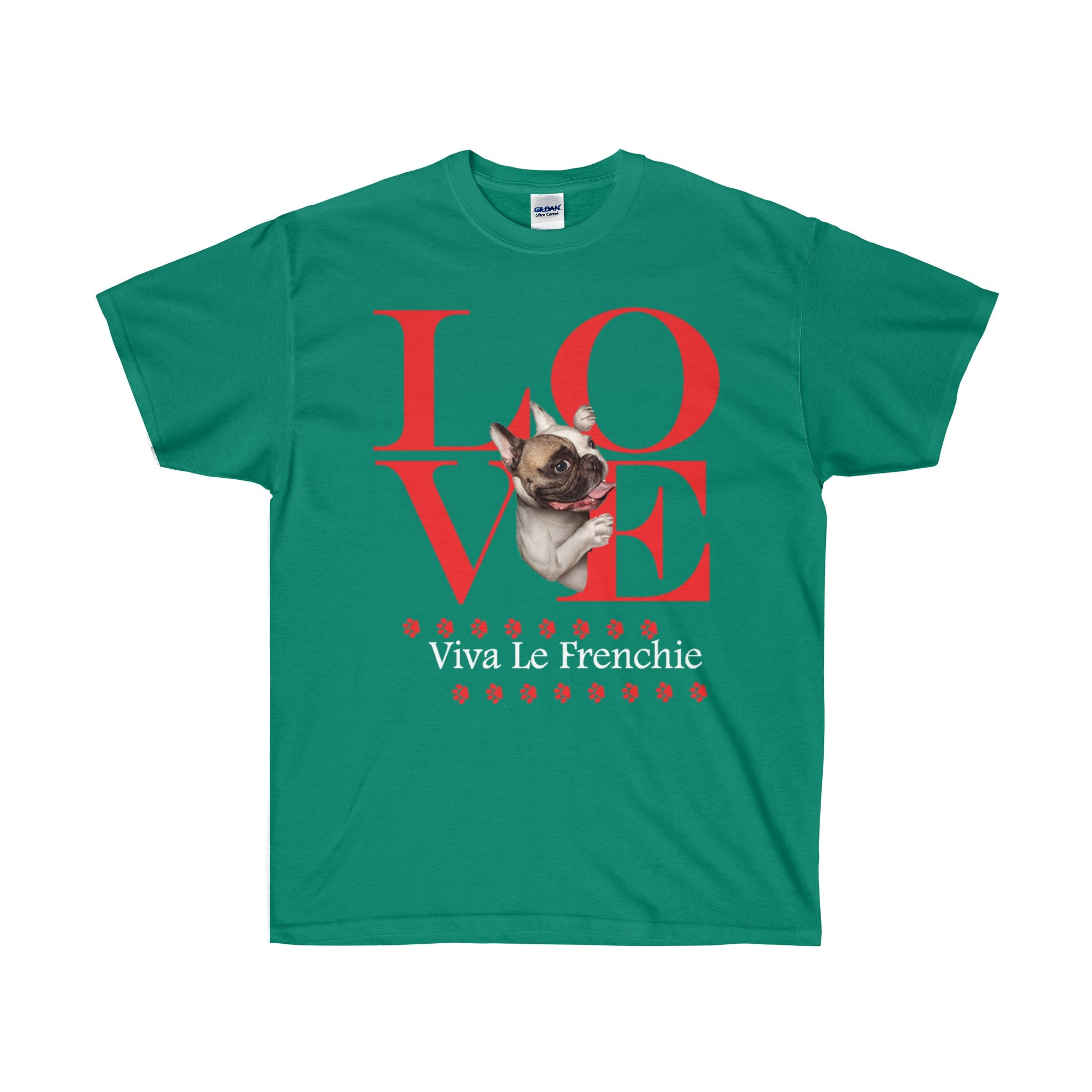 Love Viva Le Frenchie Mens T-Shirt