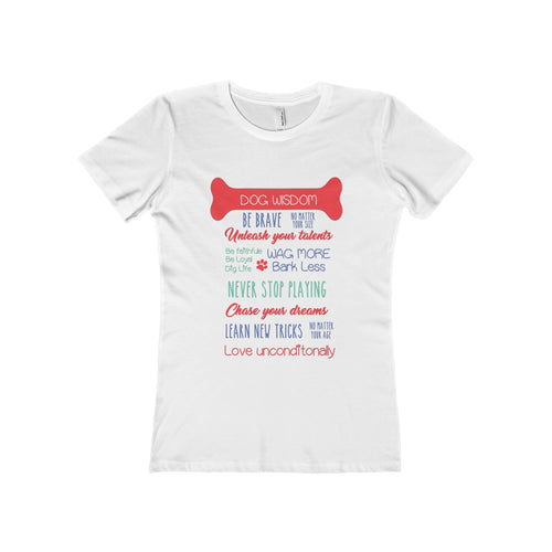 Dog Wisdom Women's  T-Shirt