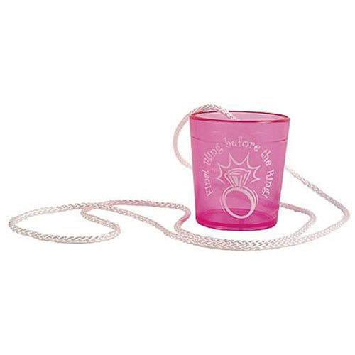Final Fling Before the Ring Hanging Shot Glass GFF-712