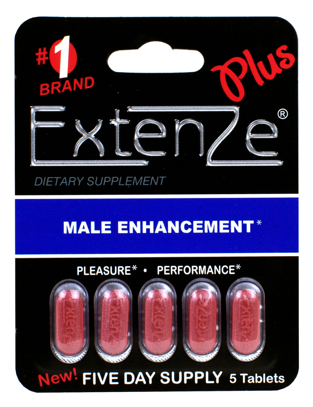 Extenze Plus 5 Day Supply - Each EXTPLUS-5CTE