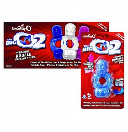 The Big O 2 - 6 Count Box - Assorted Colors BO2-110D