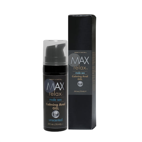 Max 4 Men Relax Calming Anal Gel .5 Oz CE8504-00