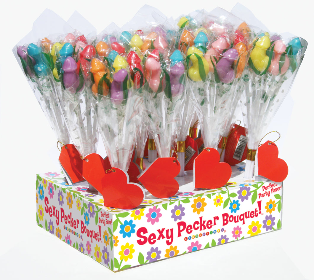 Candy Penis Bouquet - 12 Piece Display CP-669