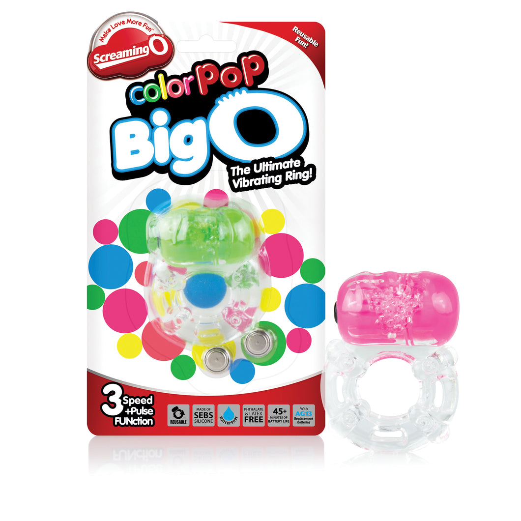 Screaming O Colorpop Big O - 6 Count Box - Assorted Colors CP-BO-110D