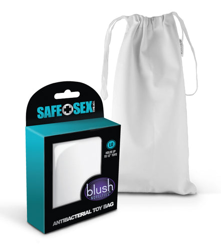 Safe Sex - Antibacterial Toy Bag - Large - Each BL-99915E