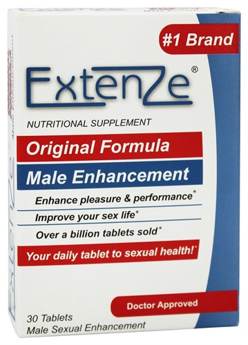 Extenze Male Enhancement - 30 Tablets EXT30BX