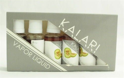 Kalari Vapor Liquid Honeydew Melon 6 Pack - 20ml - 8mg GGT-10031