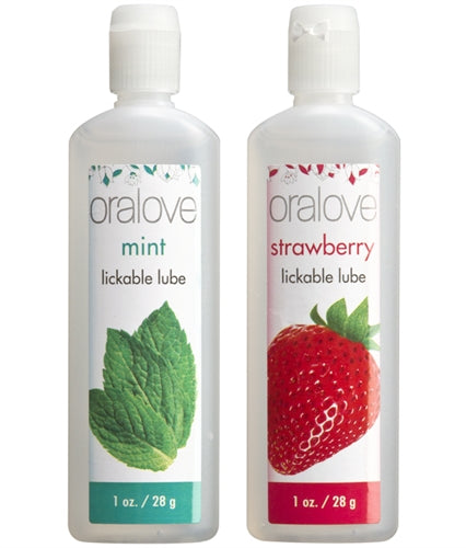 Oral Love Dynamic Duo - Strawberry and Mint DJ1355-02