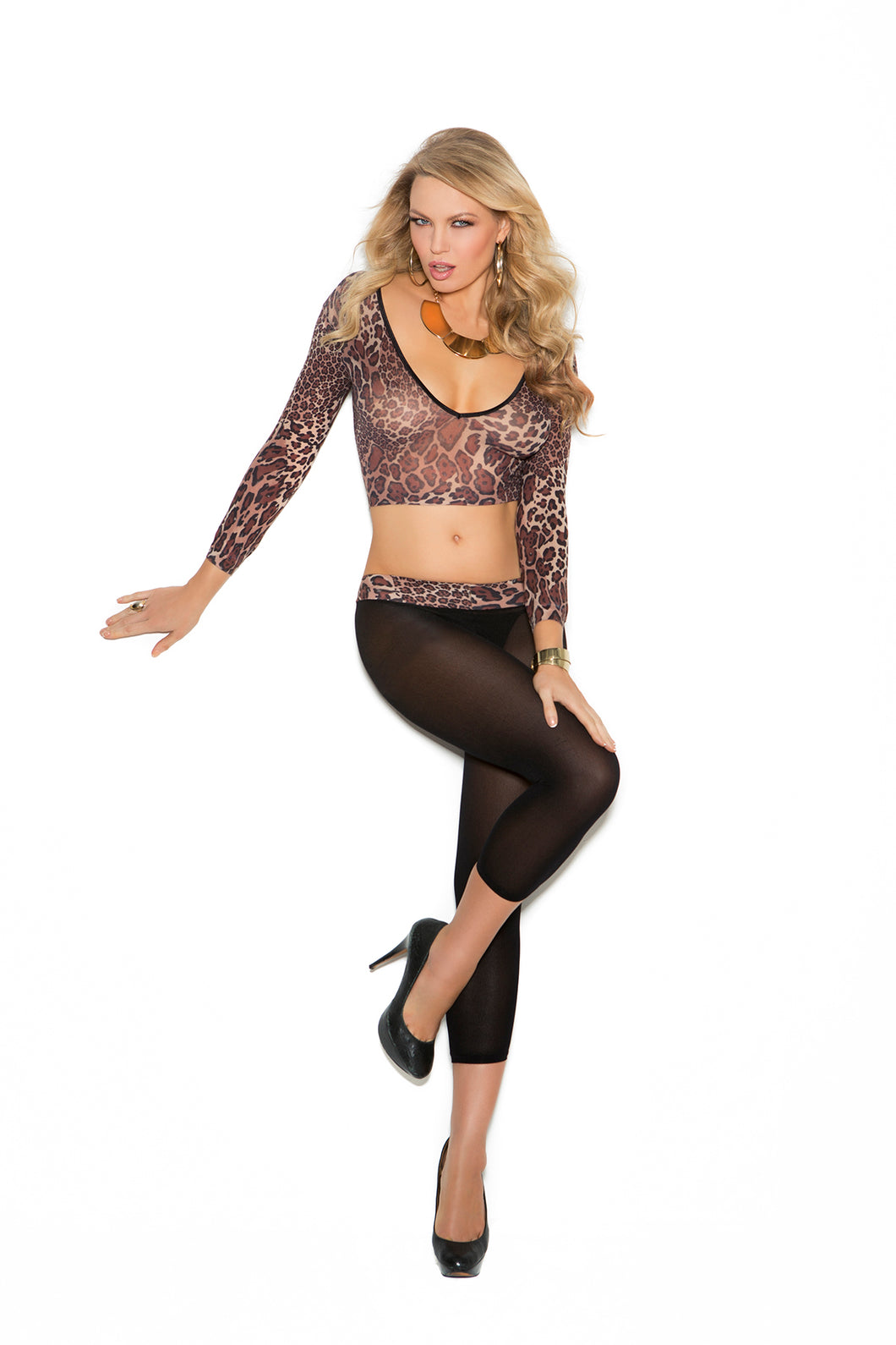 Cami Top and Leggings - One Size EM-1582