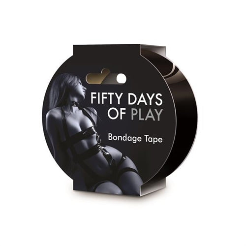 Fifty Days of Play - Bondage Tape - Black CC-USFIFTYDAYTAPE