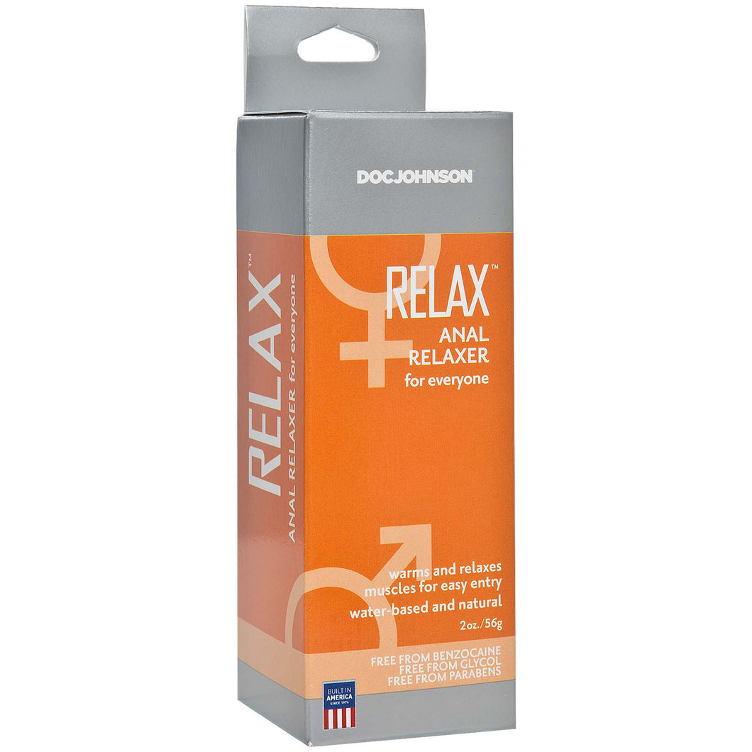 Relax - Anal Relaxer for Everyone - 2 Oz. - Boxed DJ1312-15