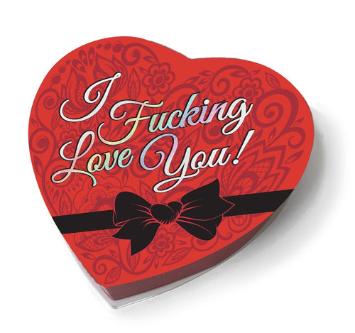 I f'n Love You - Heart Boxed Chocolates CP-933