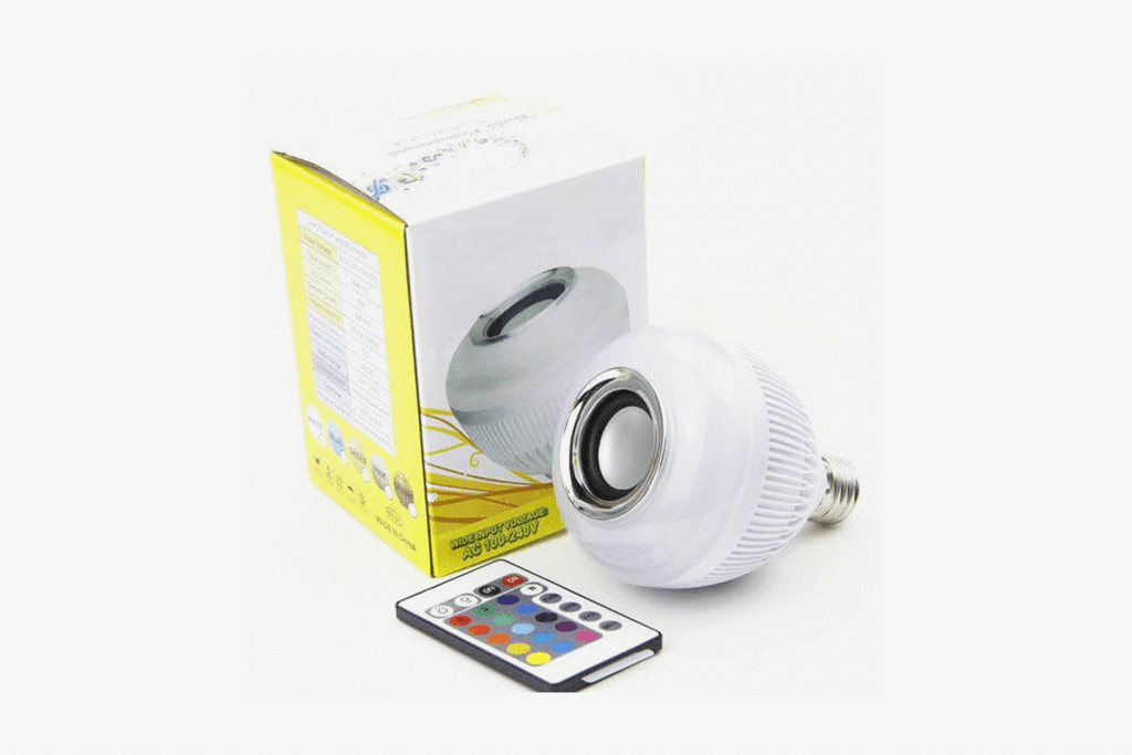 Wireless Bluetooth LightBulb Speaker
