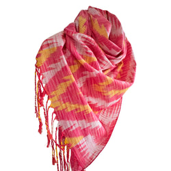Ikat handmade cotton stylish scarf