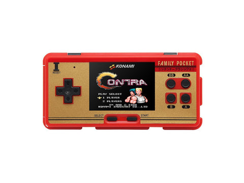 Family Pocket™ Handheld 8 Bit Retro Video Game Console