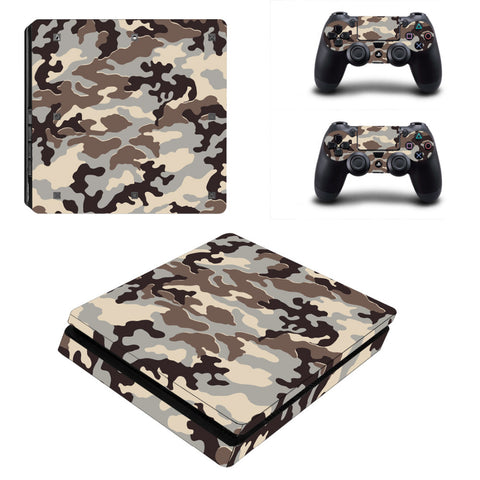 Rock Camo Vinyl Skin For PlayStation 4 Slim
