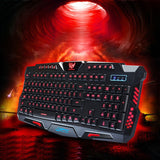 Tricolor Multimedia Gaming Keyboard