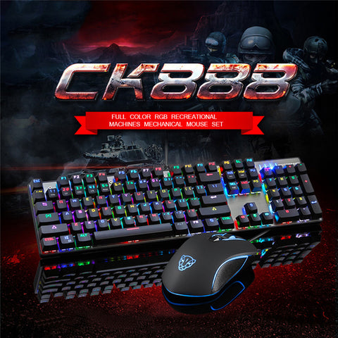Motospeed CK888 Mechanical Keyboard + Mouse Gaming Set