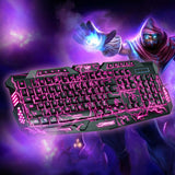 Lightning Waterproof Gaming Keyboard