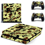 Camouflage Vinyl Cover Decal For Sony Play Station 4