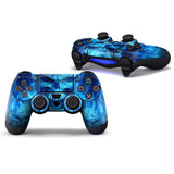 Skull Protective Skin Sticker For PS4 Controller