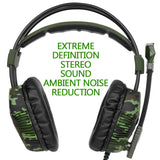 Sades SA921 Plus PS4 Camo Gaming Headset