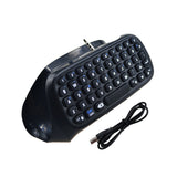 Mini Bluetooth Wireless Keyboard for Sony Playstation 4 Controller