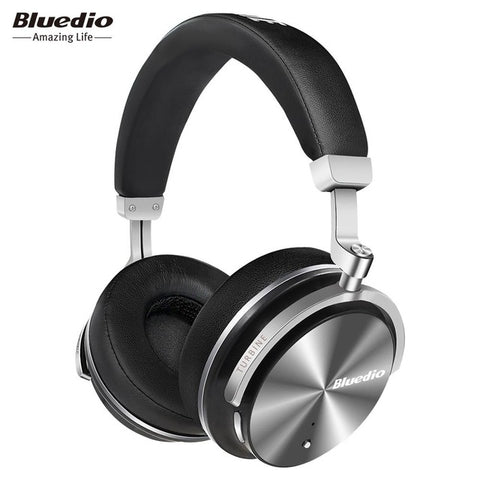Bluedio T4S Active Noise Cancelling Bluetooth Headphones