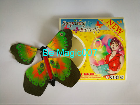 2 pcs/lot Flying Butterfly - Close Up Magic - Bemagic