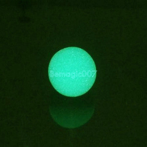 20 pcs/lot 3.5cm Super Soft Sponge Balls(Green) - Close Up Magic - Bemagic