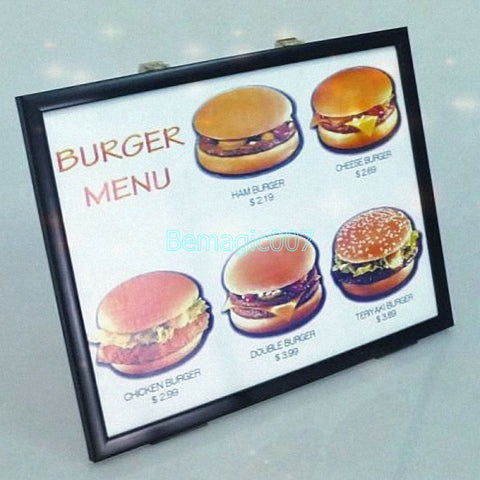 4D Burger Board -- Stage Magic - Bemagic