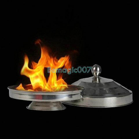 Auto Flame Electric Dove Pan (Double Load)  -- Stage Magic - Bemagic