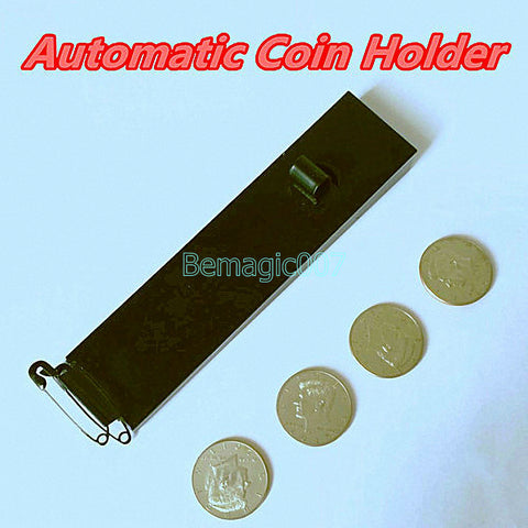 Automatic Coin Holder -- Stage Magic - Bemagic