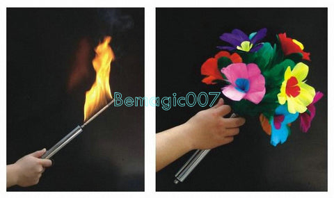 Automatic Torch To Bouquet -- Stage Magic - Bemagic